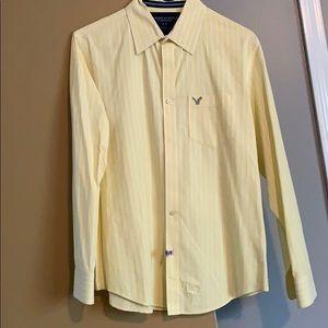 Men's American Eagle striped shirt